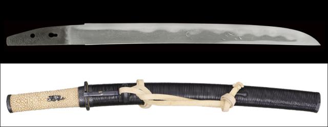 商品番号:V-1723 短刀 長谷部国重 第四十七回重要刀剣指定品 拵え付き