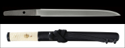 商品番号:L-828 短刀 大和国末保昌(無銘) 保存刀剣鑑定書付き 拵え付き