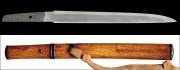 商品番号:M-111 短刀 綱俊(長運斎) 保存刀剣鑑定書付き 拵え付き