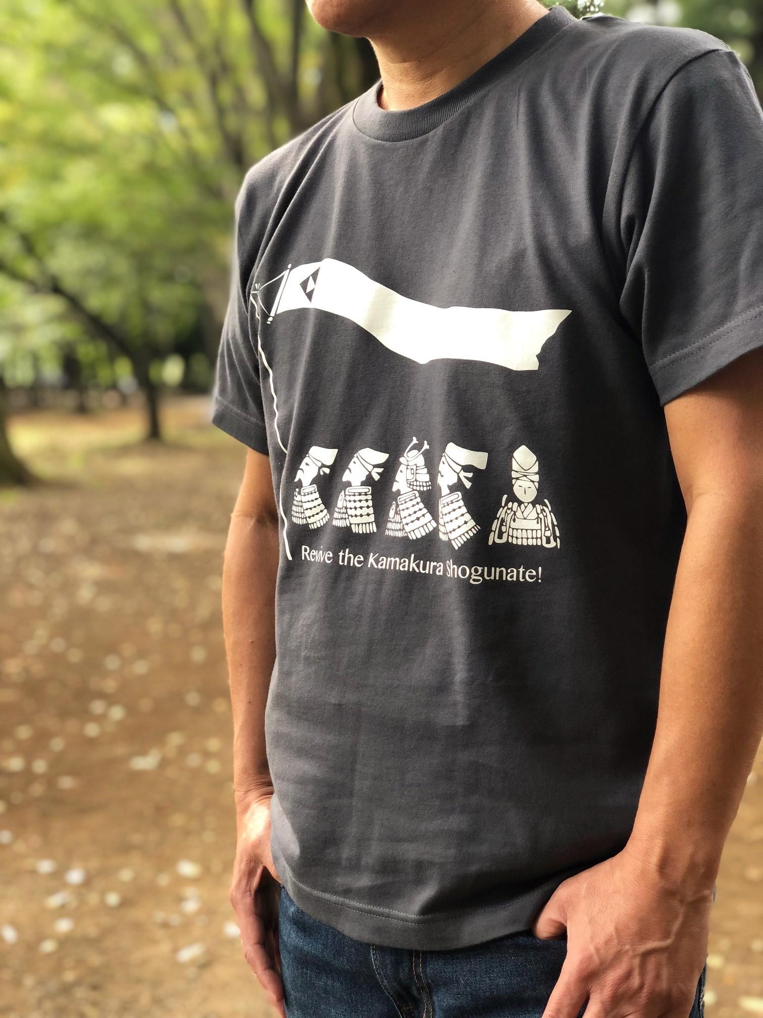 中先代の乱 北条時行Tシャツ