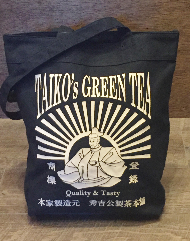 秀吉公製茶本舗トートバッグ 侍気分戦国グッズ