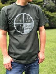 島津軍 釣り野伏せの戦法Tシャツ  侍気分戦国グッズ