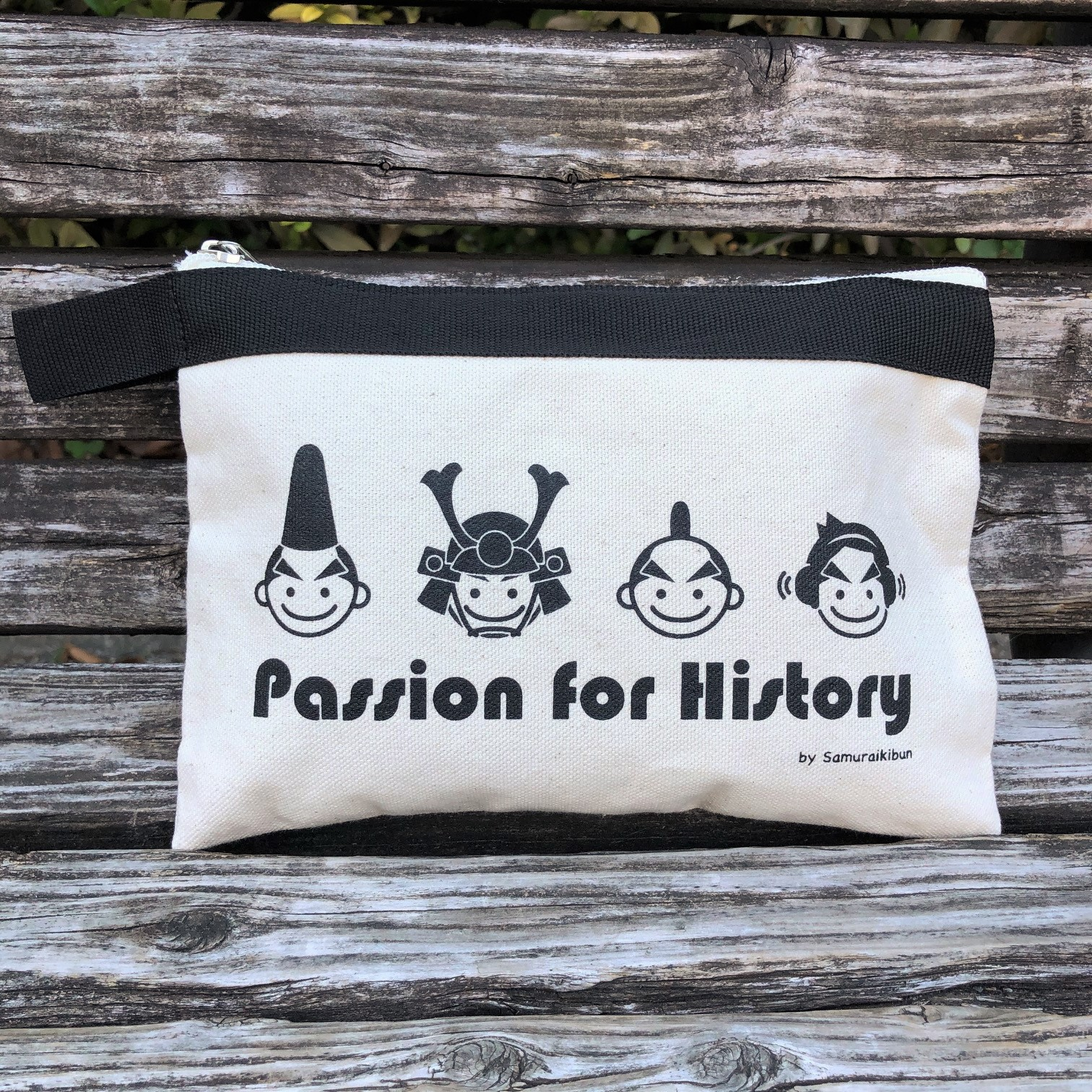 Passion for Historyキャンバスポーチ