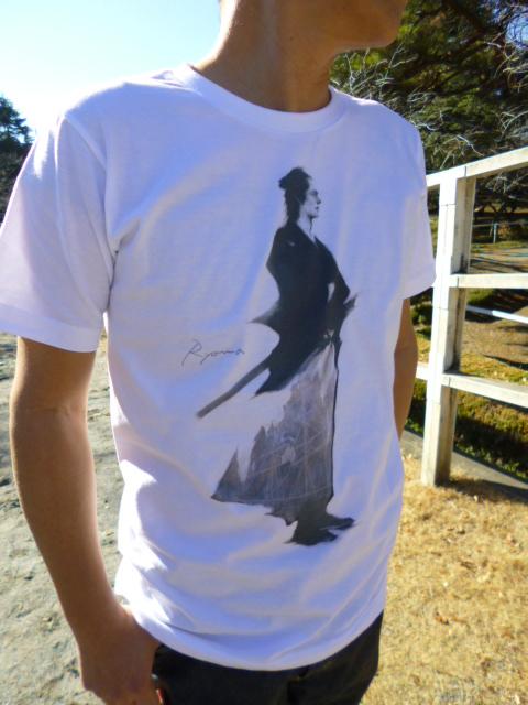 坂本龍馬Tシャツ
