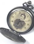 土方歳三肖像文字盤懐中時計
