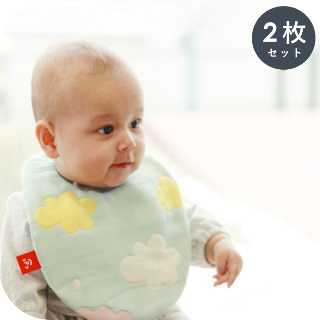スタイ|6重ガーゼ  綿100% ベビー 出産祝い 新生児 ビブ よだれかけ