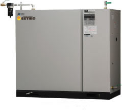CLBS55BF-30|アネスト岩田・給油式高圧ブースター5.5kw(7.5馬力)三相200V