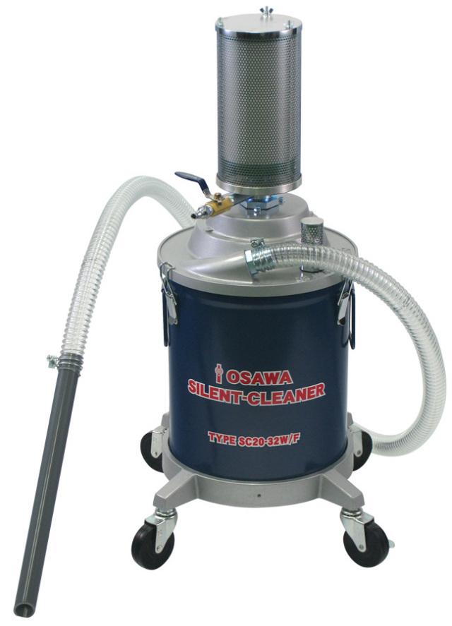サイレントクリーナーSC20-32W/F(20L・鉄缶付・粉塵用)|オオサワ&カンパニー