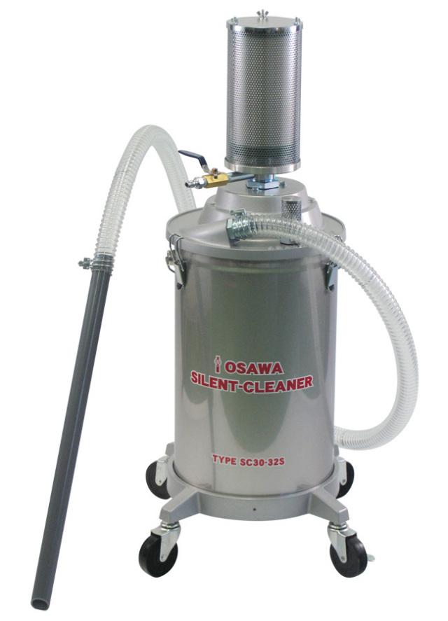 サイレントクリーナーSC30-32S(30L・SUS缶付・集塵用)|オオサワ&カンパニー