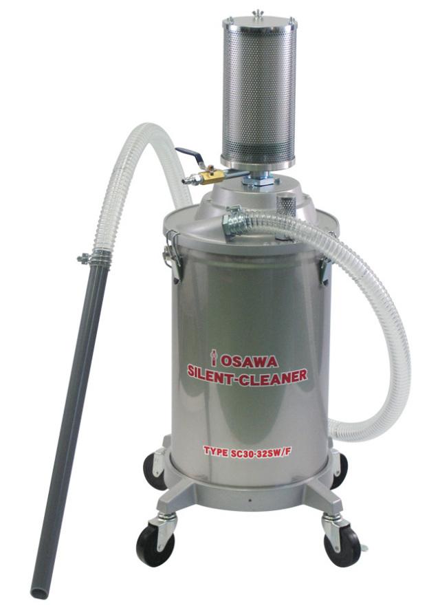 サイレントクリーナーSC30-32SW/F(30L・SUS缶付・粉塵用)|オオサワ&カンパニー