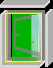 なまらアミード  HNP型  18サイズ|プリーツ網戸やロール網戸とは全く違う新発想網戸
