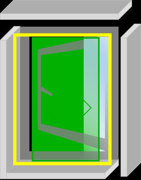 なまらアミード  HNP型  22サイズ|プリーツ網戸やロール網戸とは全く違う新発想網戸