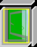 なまらアミード  HNP型  12サイズ|プリーツ網戸やロール網戸とは全く違う新発想網戸