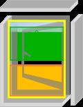なまらアミード  VNNP型  10サイズ|プリーツ網戸やロール網戸とは全く違う新発想網戸