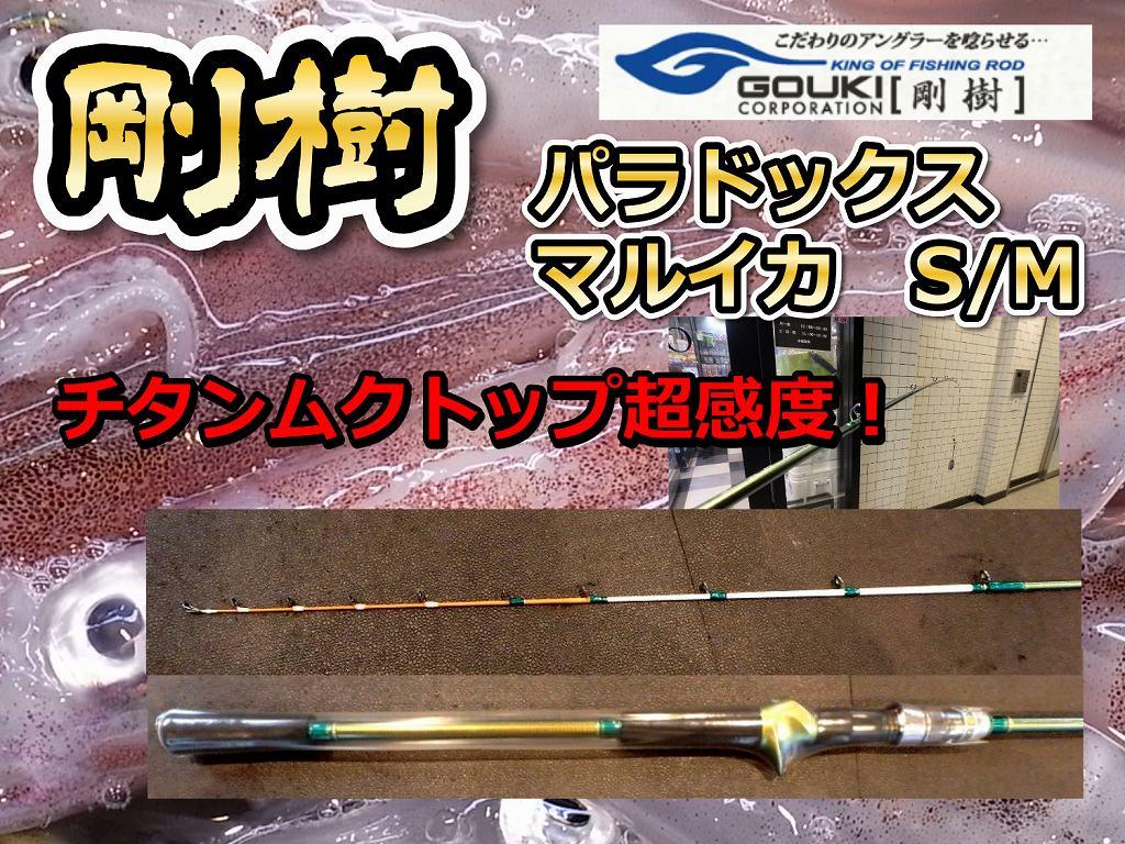 剛樹 Gチーム マルイカ170 チタントップの超高感度! (送料無料)