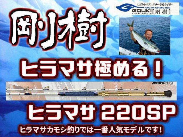 剛樹 ヒラマサ狙いの1本! ヒラマサ220SP (送料無料)