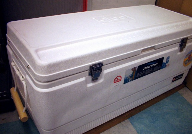igloo イーグロー162QT(サンゴ堂オリジナル防水仕様) 防水加工済み!ウレタン注入により保冷力はトップクラス! 大物釣りの定番クーラー  ※代引き不可  ※大型 個別送料対応商品