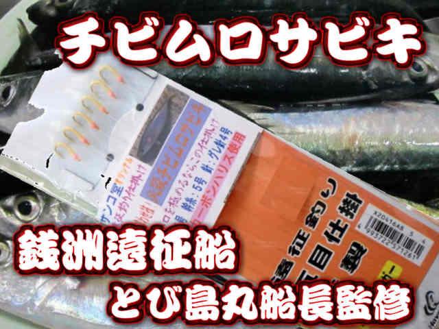 必殺!チビムロサビキ(サンゴ堂たけ店長考案) 7-9月の銭洲ではチビムロが回遊するのでこの仕掛け!