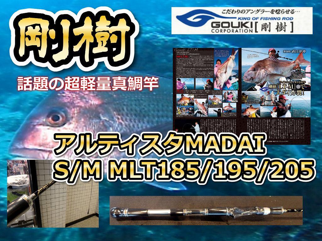剛樹  アルティスタMADAI  LTM  話題の超軽量コマセ真鯛モデル (送料無料)