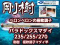 剛樹 極軟調子! パラドックス・マダイ 235/255/270! (送料無料)