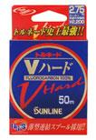 最強ハリス トルネード Vハード 50m(10号、12号のみ) フロロカーボン最強!たけ店長イチ推し!