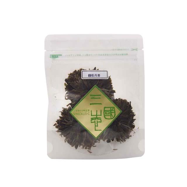緑牡丹(リョクボタン)(3個入り)
