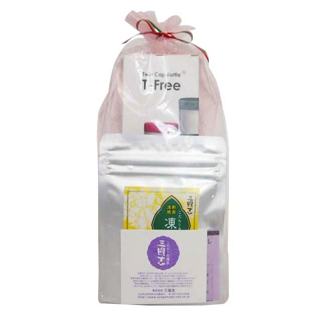 ティーフリー&凍頂烏龍茶(ティーバッグ)セット/ラッピング