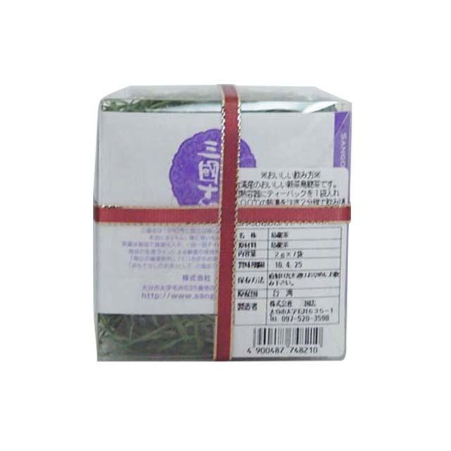 新茶浅焼凍頂/ティーバッグ(ヒモ付)(花想い缶)