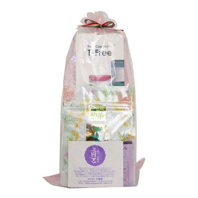 ティーフリー&凍頂烏龍茶(茶葉)セット/ラッピング
