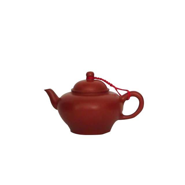 茶壷(朱泥)