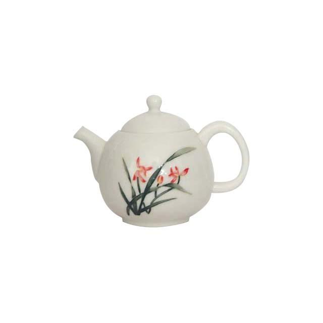 茶壺/磁器(蘭)