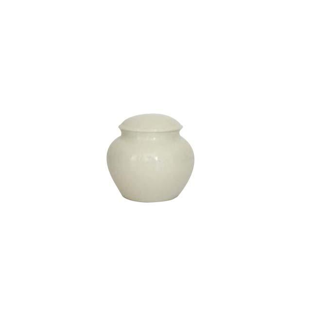 茶筒/磁器(白 小)