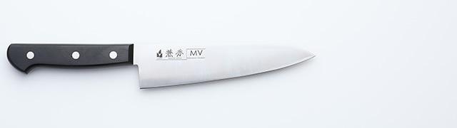 2209 兼秀 MV鋼  口金無 牛刀165mm