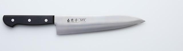 2211 兼秀 MV鋼  口金無 牛刀210mm