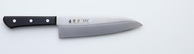 2240 兼秀 MV鋼  口金無 洋出刃180mm