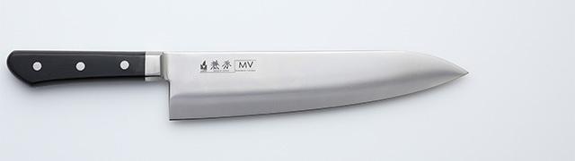 2342 兼秀 MV鋼  口金付 洋出刃240mm