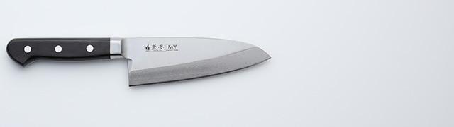 2350 兼秀 MV鋼  口金付 和出刃150mm