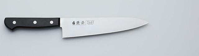 2610 兼秀 Ss61鋼 口金無   牛刀180mm