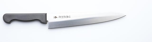 2863 兼秀別作 特殊合金鋼 平切(ひらぎり)240mm PV 右用