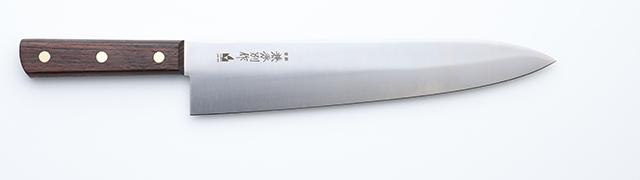 3042 兼秀別作 特殊合金鋼 厚口牛刀(あつくちぎゅうとう) 270mm WT