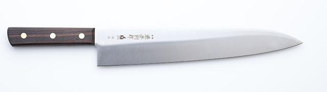 3061 兼秀別作 特殊合金鋼 平切冷凍(ひらぎりれいとう) 300mm WT
