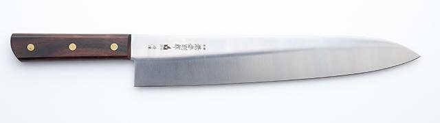 3062 兼秀別作 特殊合金鋼 平切冷凍(ひらぎりれいとう) 330mm WT