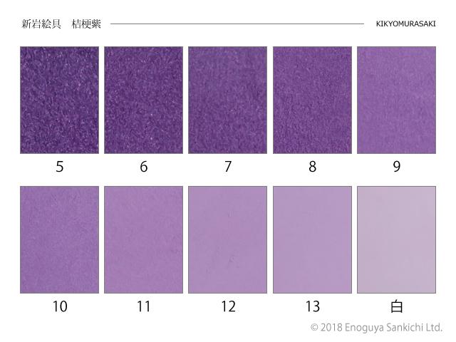 桔梗紫 (新岩絵具)15g