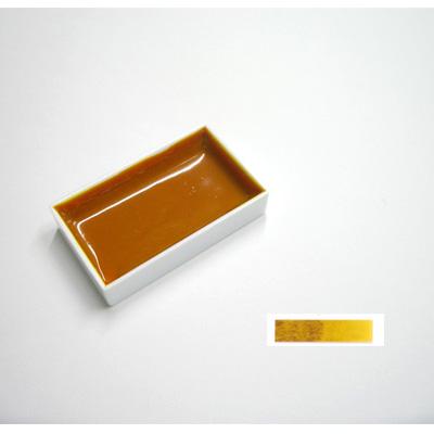 上羽絵惣 角顔彩・単色(藤黄)