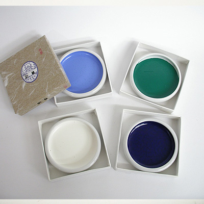 彩雲堂 鉄鉢顔彩・単色(540円)