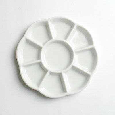 菊皿 (13.5cm)