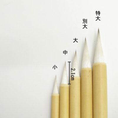 削用筆(中)  線描・彩色  清晨堂製