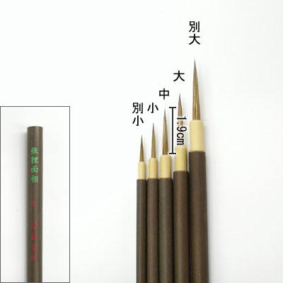 狼狸面相(中) 細線筆  清晨堂製