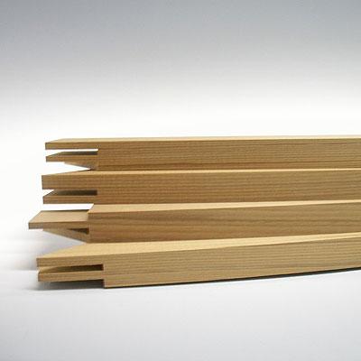 絹枠 1尺3寸長物 (内寸:365×1200mm)