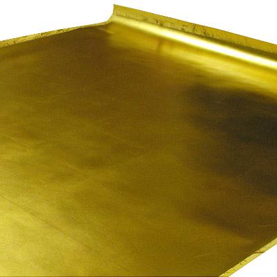 箔押鳥之子紙 洋金箔(手貼り)  98×197cm